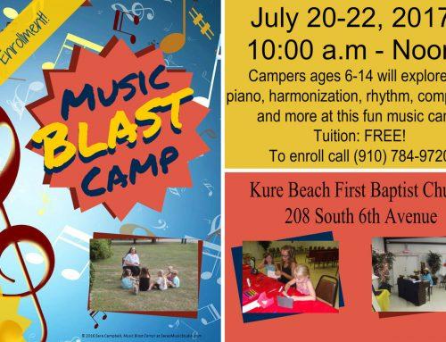 Music Blast Camp 2017